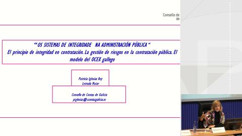 A prevención da corrupción na contratación pública - Curso monográfico Os sistemas de integridade institucional nas administracións públicas